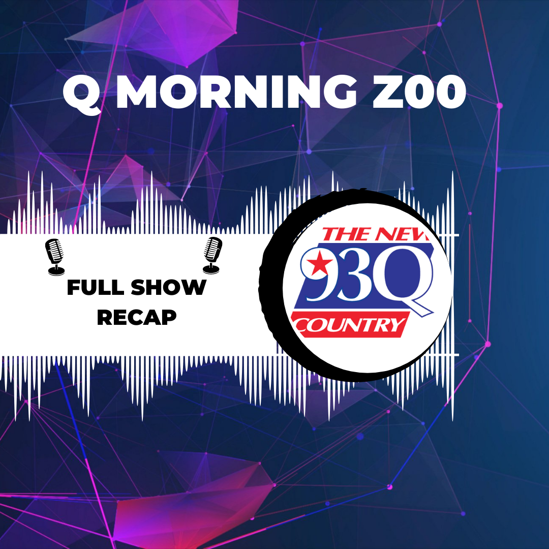 The Q Morning Zoo Full Show Recap