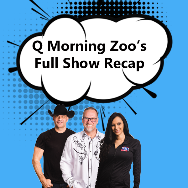 The Q Morning Zoo Full Show Recap